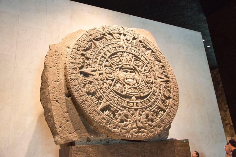 【メキシコシティ】国立人類学博物館