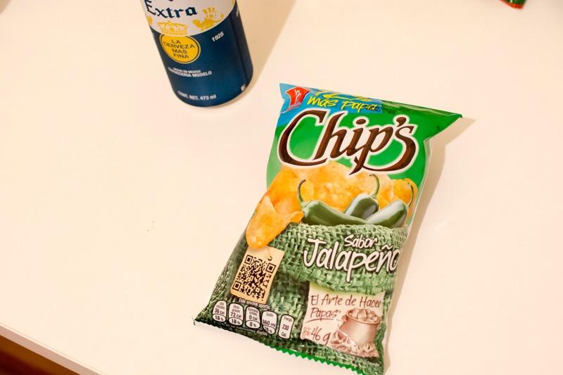 【メキシコ】ポテトチップス