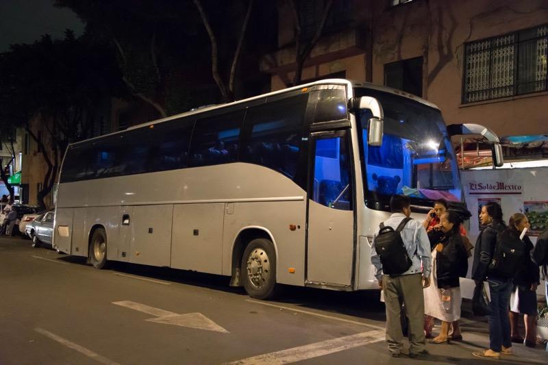 【メキシコ】メキシコシティ→オアハカの3等バス