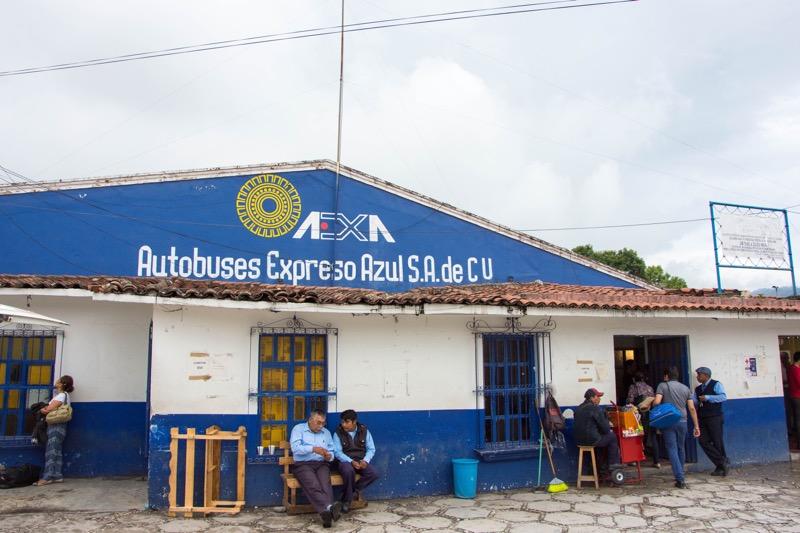 サンクリストバル・デ・ラスカサス|2等バスターミナル