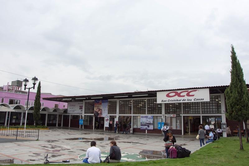 サンクリストバル・デ・ラスカサス|バスターミナル