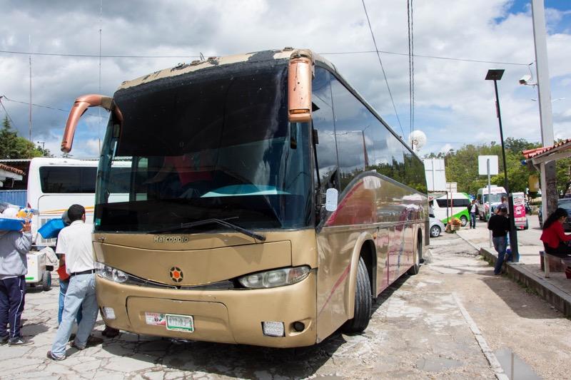 サンクリストバル・デ・ラスカサス|2等バス