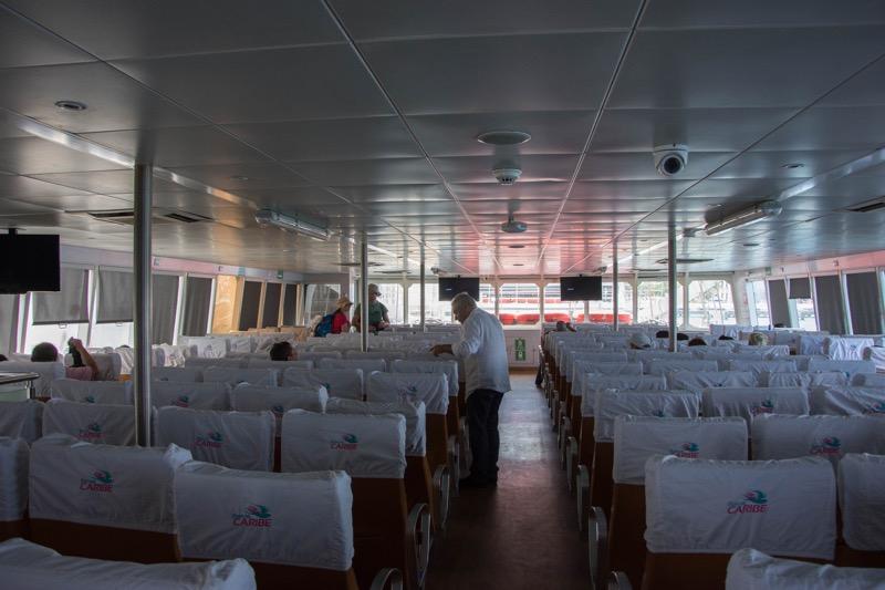 コスメル島→プラヤ・デル・カルメン