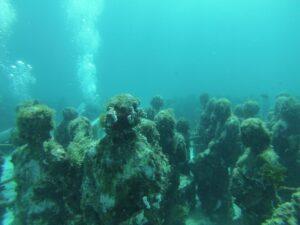 カンクン|海底美術館のダイビング