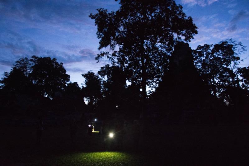 フローレス|ティカル遺跡観光