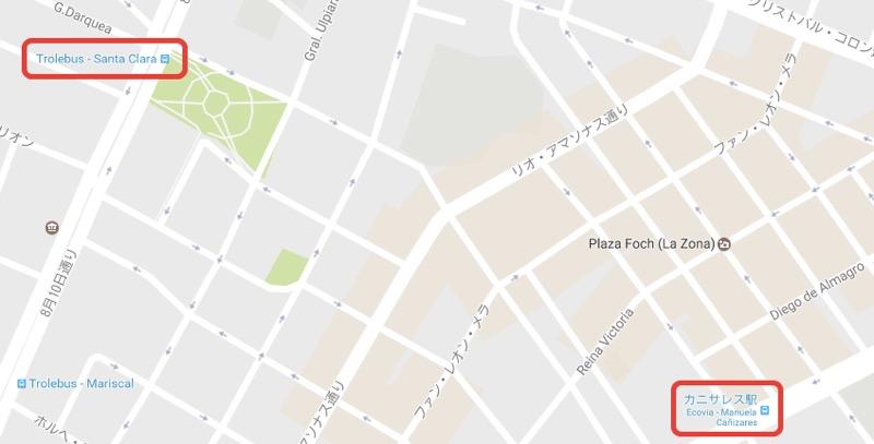 キト|新市街の地図