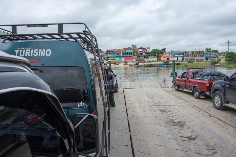 グアテマラ フローレス→セムクチャンペイ