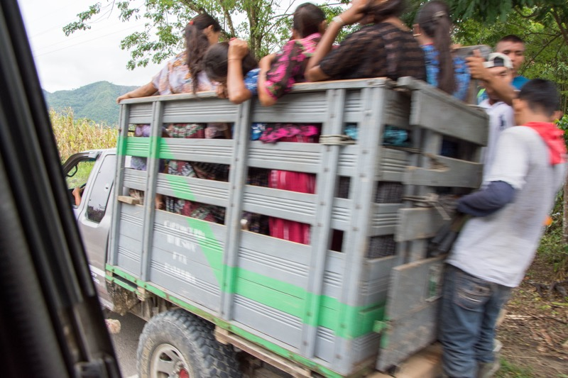 グアテマラ|フローレス→セムクチャンペイ
