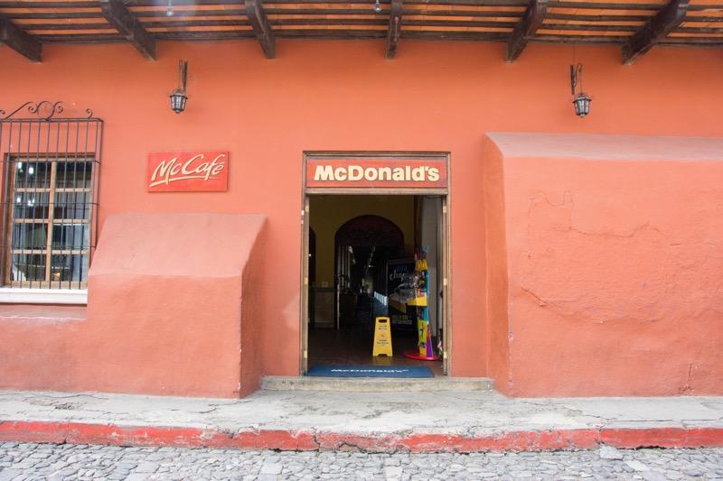 アンティグア 世界一お洒落なマック