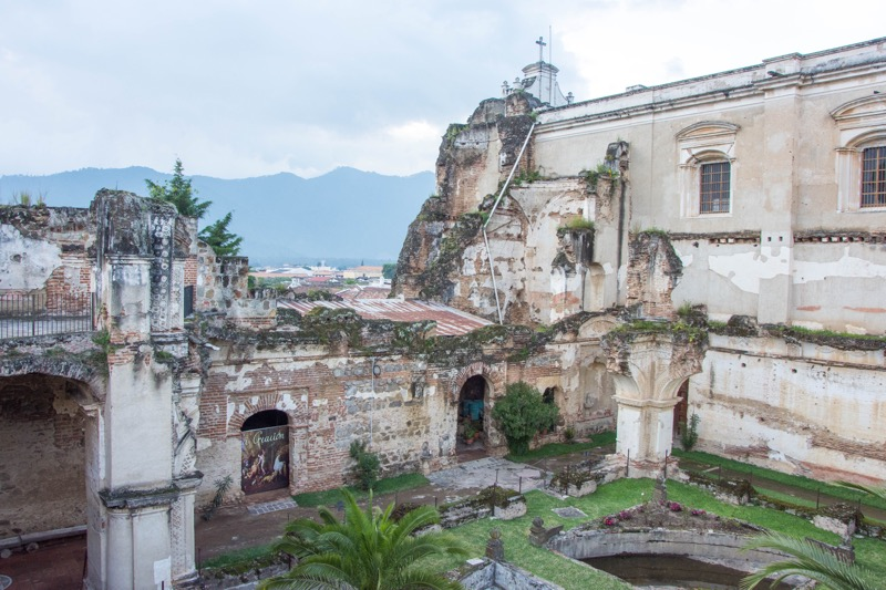 アンティグア 廃墟