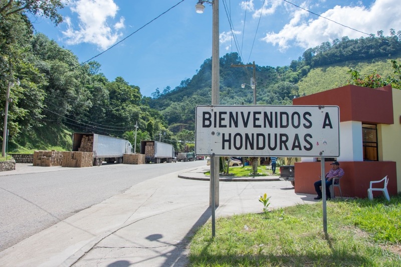 グアテマラ/ホンジュラス国境