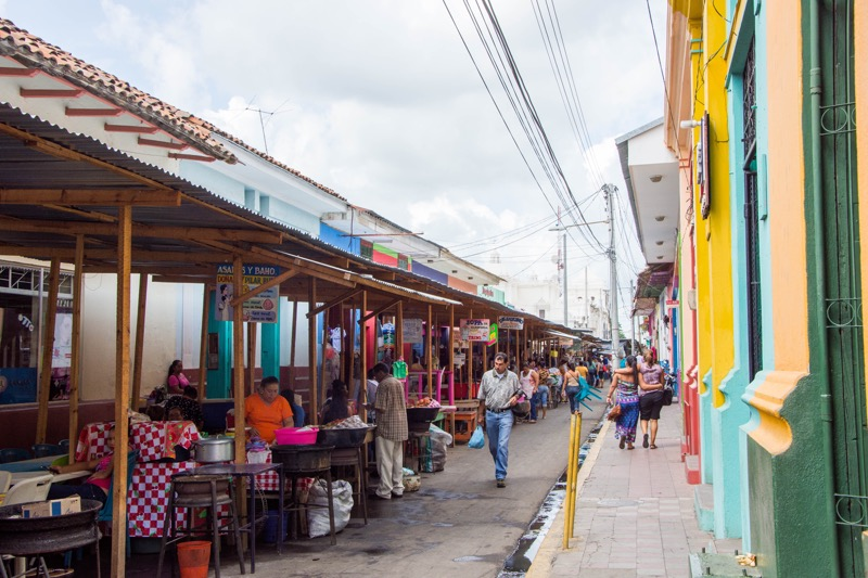 ニカラグア・レオン|市場
