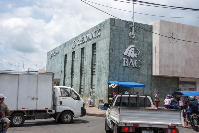 中米の銀行ATM|BAC