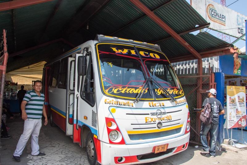 「ニカラグアのルート|治安の悪いマナグアでうっかりローカルバスに乗車。。レオン→グラナダのローカルバス移動まとめ。」のアイキャッチ画像