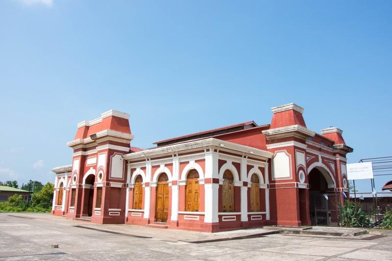 ニカラグア・グラナダ|旧鉄道駅