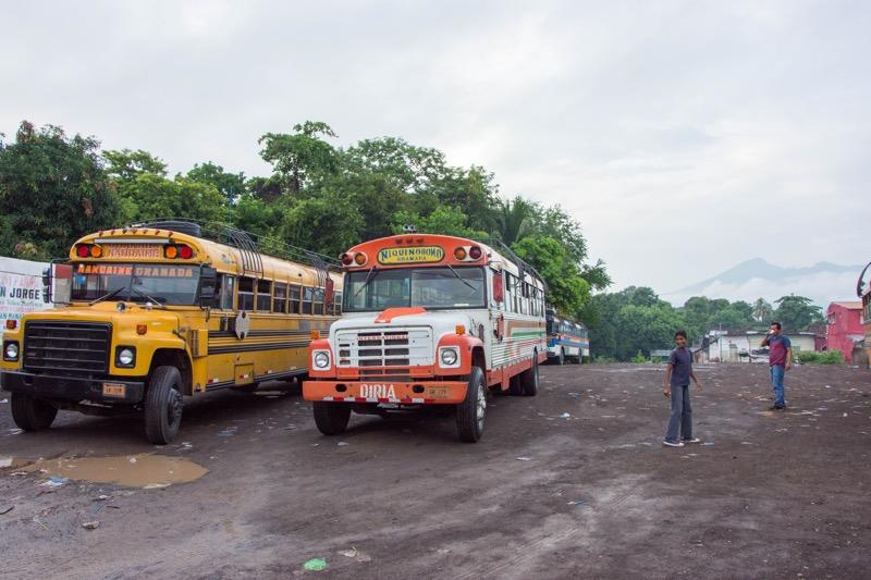 グラナダ|リバス行きバスターミナル
