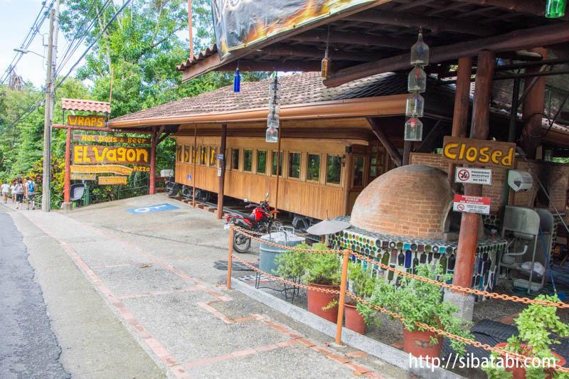 コスタリカのユニークホテル「Costa Verde」のレストラン「El Wagon」