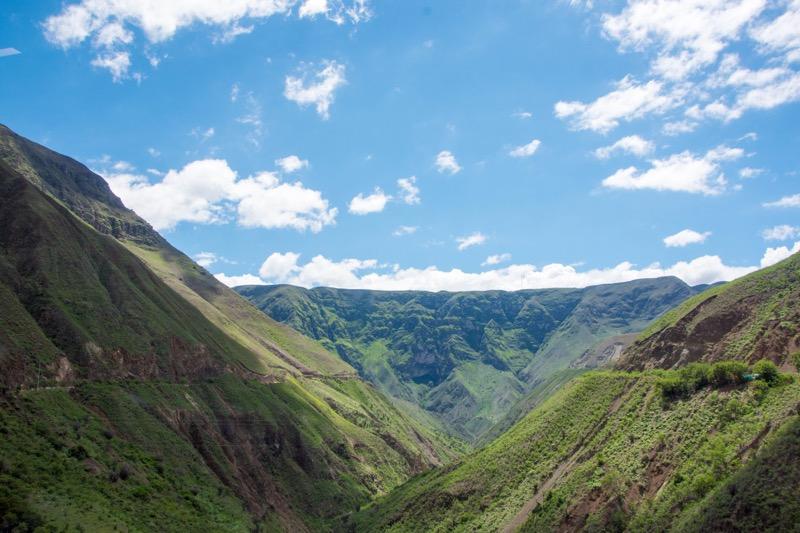 コロンビアのルート|ポパヤン→イピアレス