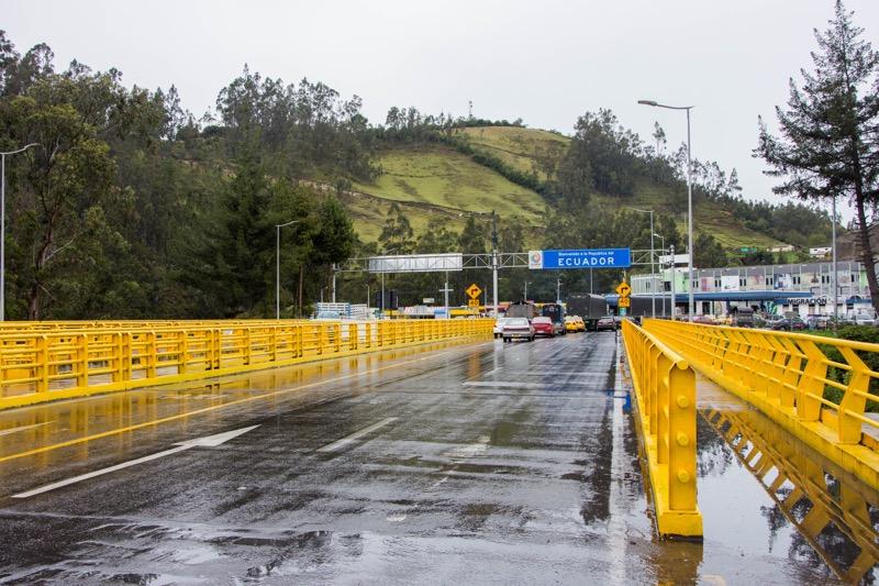 コロンビア/エクアドル国境