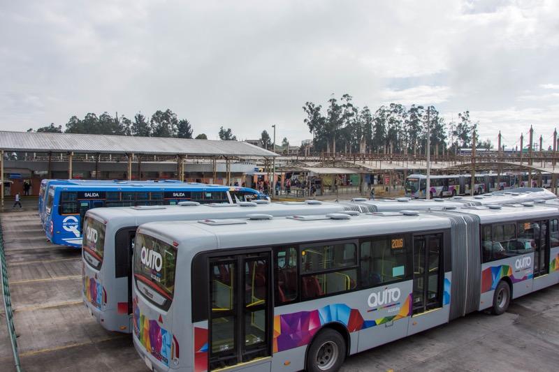 エクアドル|カルセレン(北)バスターミナル