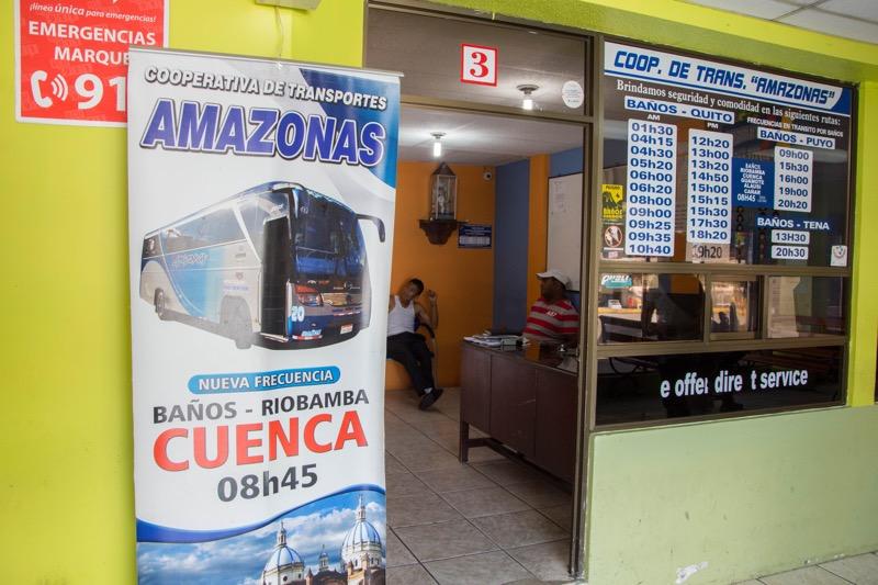 エクアドル|クエンカ→バニョス