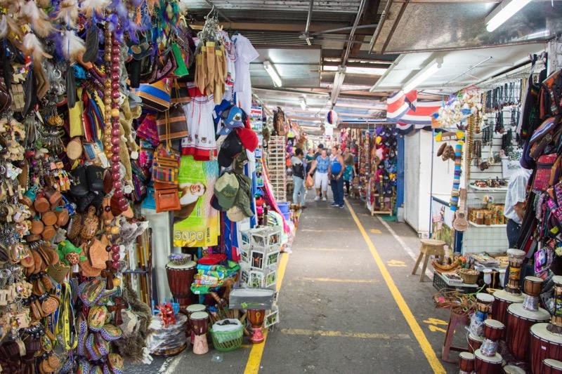 サンホセ 民芸品市場