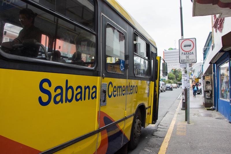 サンホセ|市内→TICAバスターミナル