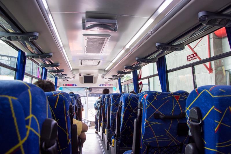 TICAバス|サンホセ→パナマシティ