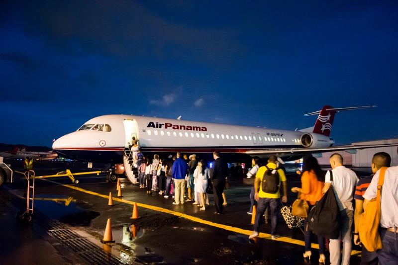 「パナマ−コロンビア間のフェリー会社が廃業。片道航空券でコロンビアへ。エアパナマのパナマシティ→メデジン線。メデジンの空港から市内への行き方。」のアイキャッチ画像