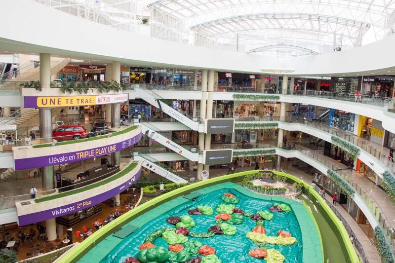 メデジン|ショッピングモール