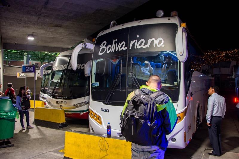 コロンビアのルート|メデジン→ボゴタ