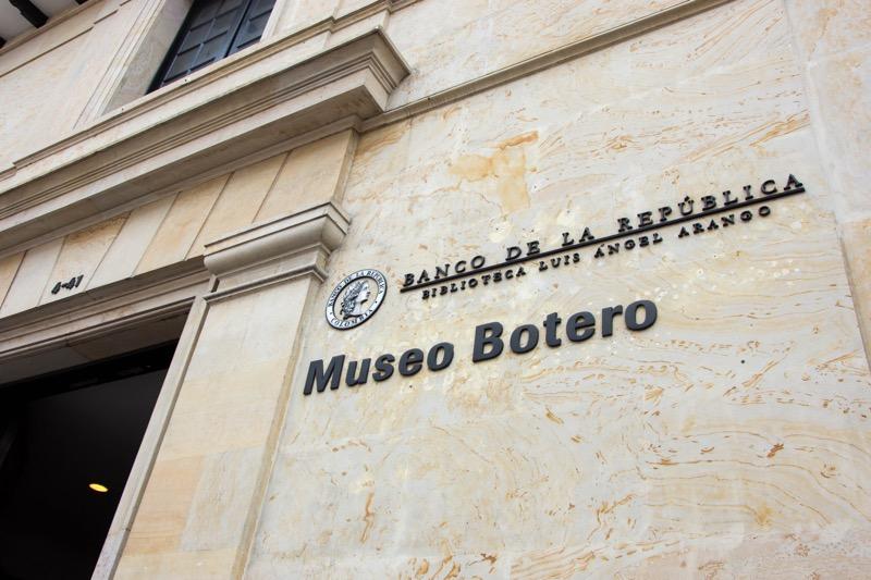 ボゴタ旧市街の観光地|ボテロ博物館