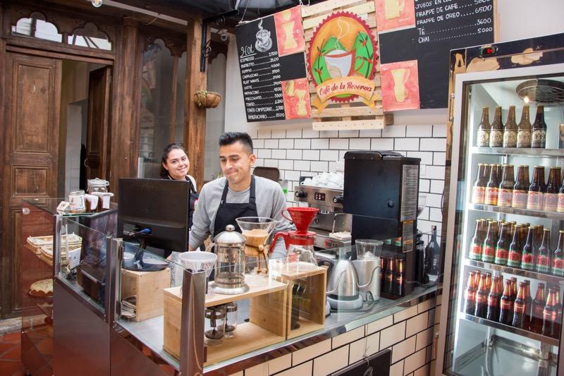 ボゴタ|カフェ