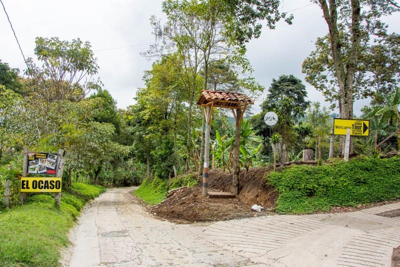 サレント|コーヒー農園「EL OCASO」への行き方