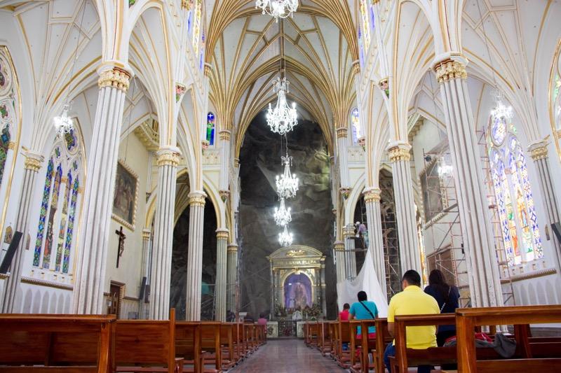 コロンビア・イピアレス ラス・ラハス教会
