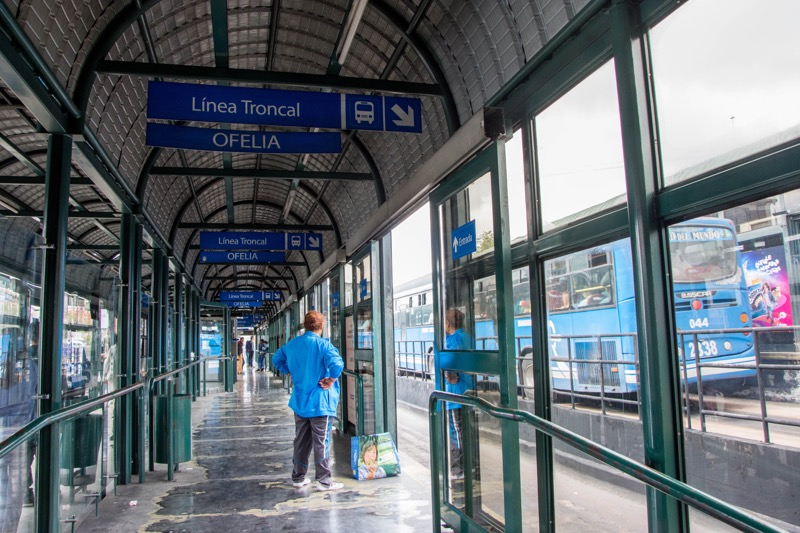 キト|新市街からオフェリアバスターミナルへ