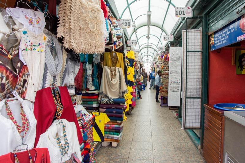 キト新市街|メルカド・デ・インディヘナ