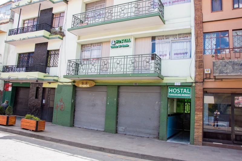 クエンカの安宿|HOSTAL TURISTA DEL MUNDO