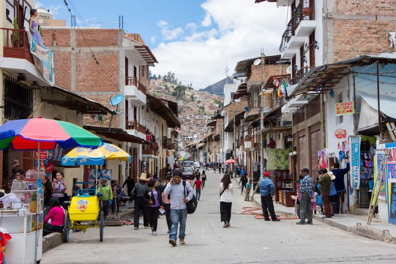 カハマルカ|街並み