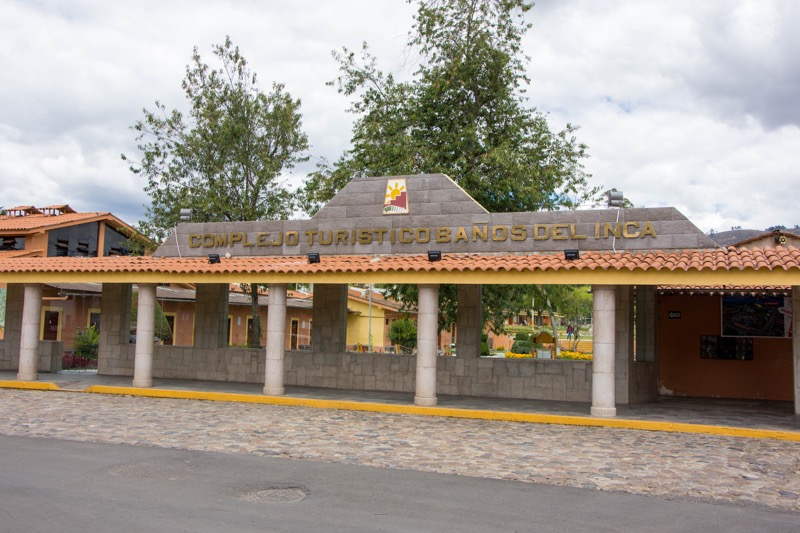 カハマルカ インカの温泉