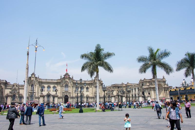 リマ|アルマス広場