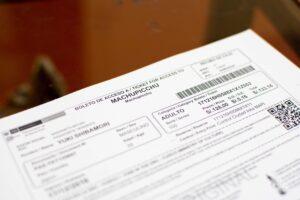 マチュピチュ遺跡のチケット