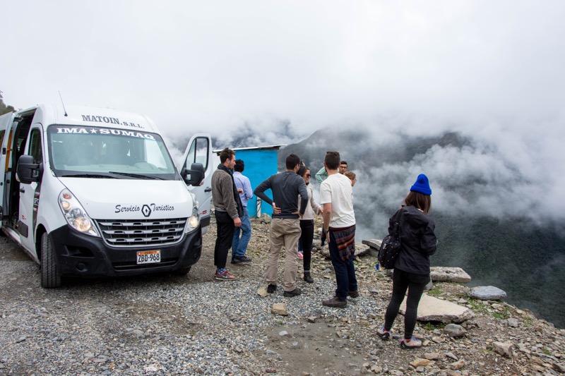 ペルーのルート|クスコ→水力発電所
