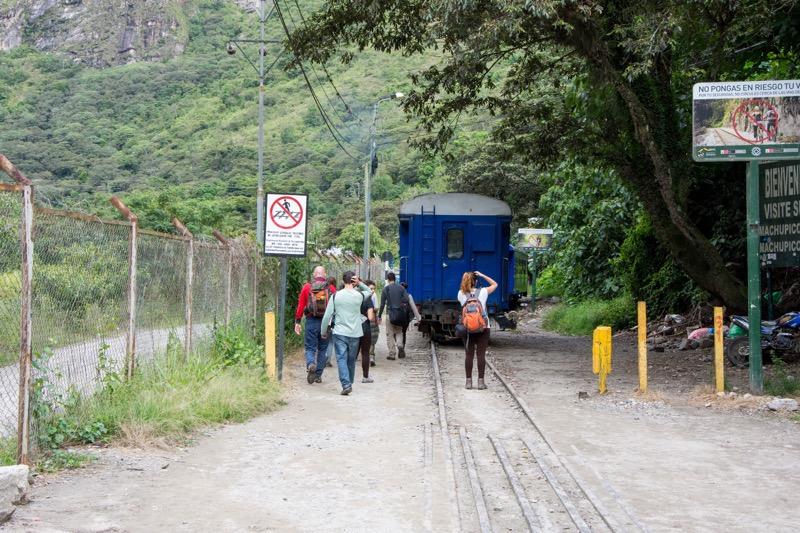 ペルーのルート|水力発電所→マチュピチュ村
