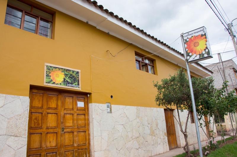 ウルバンバの安宿|Hospedaje Calendula