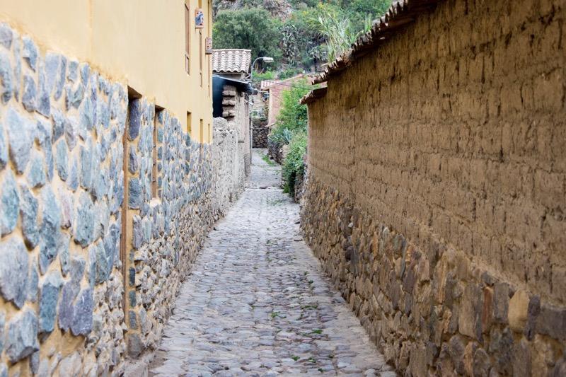 オリャンタイタンボ|街並み