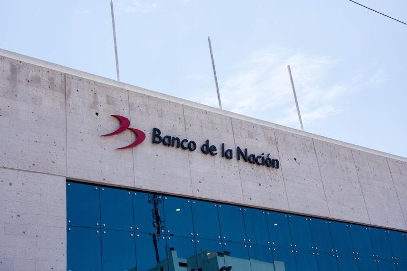ペルーのATM|「Banco de la Nación」