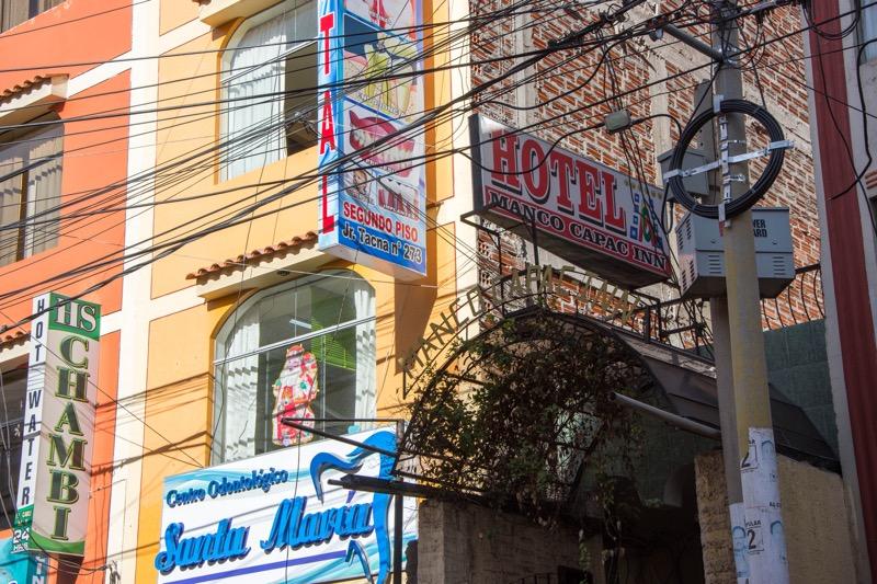 プーノの安宿「HOTEL MANCO CAPAC INN」