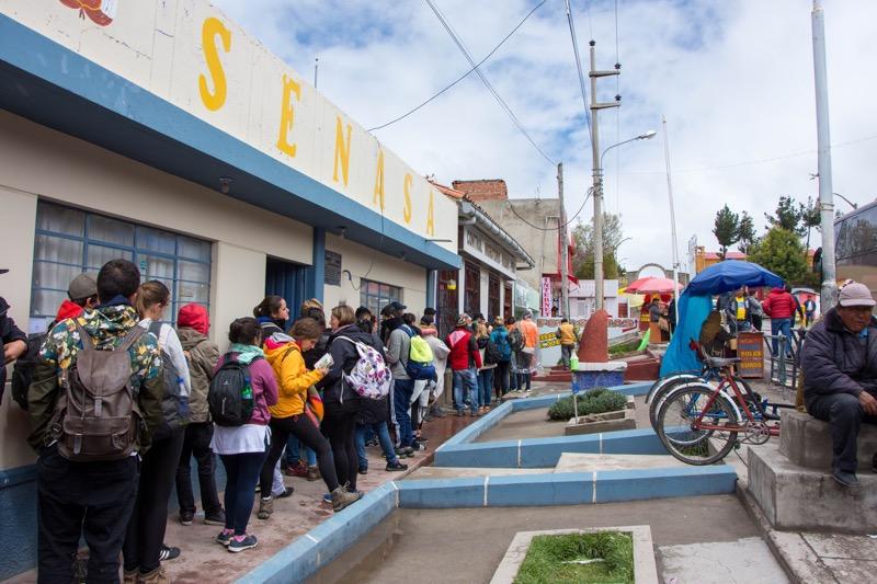 ペルー/ボリビア国境|ペルー側イミグレ