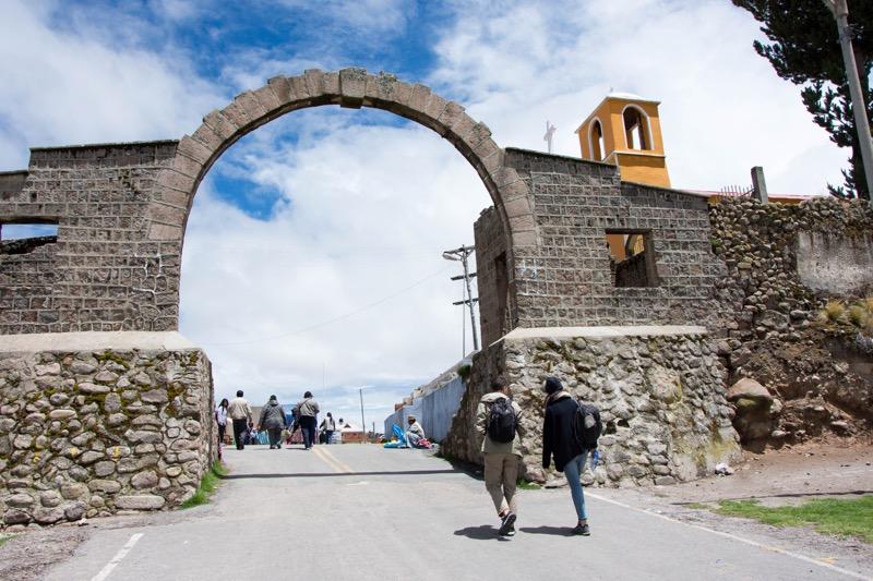 ペルー/ボリビア国境